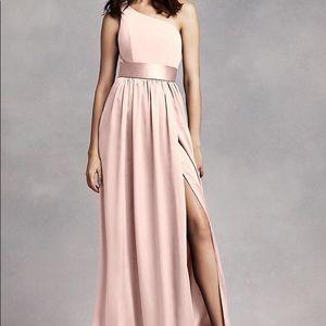 Vera Wang David's Bridal Blush dress